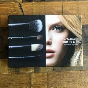 🆕 MAC Advanced Limited Edition Brush Set + Roll